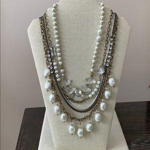K&R Silpada 'Practical Pearls' Necklace